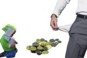 платить алименты безработному